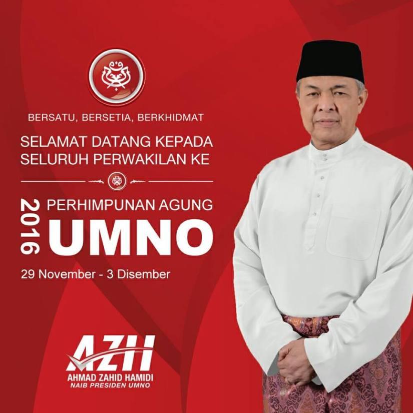 Selamat Datang Kepada Seluruh Perwakilan serta Ahli2 UMNO Ke Perhimpunan Agung UMNO2016.